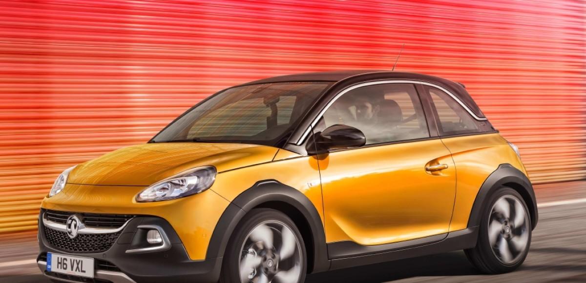 Opel официально представил серийный Adam Rocks