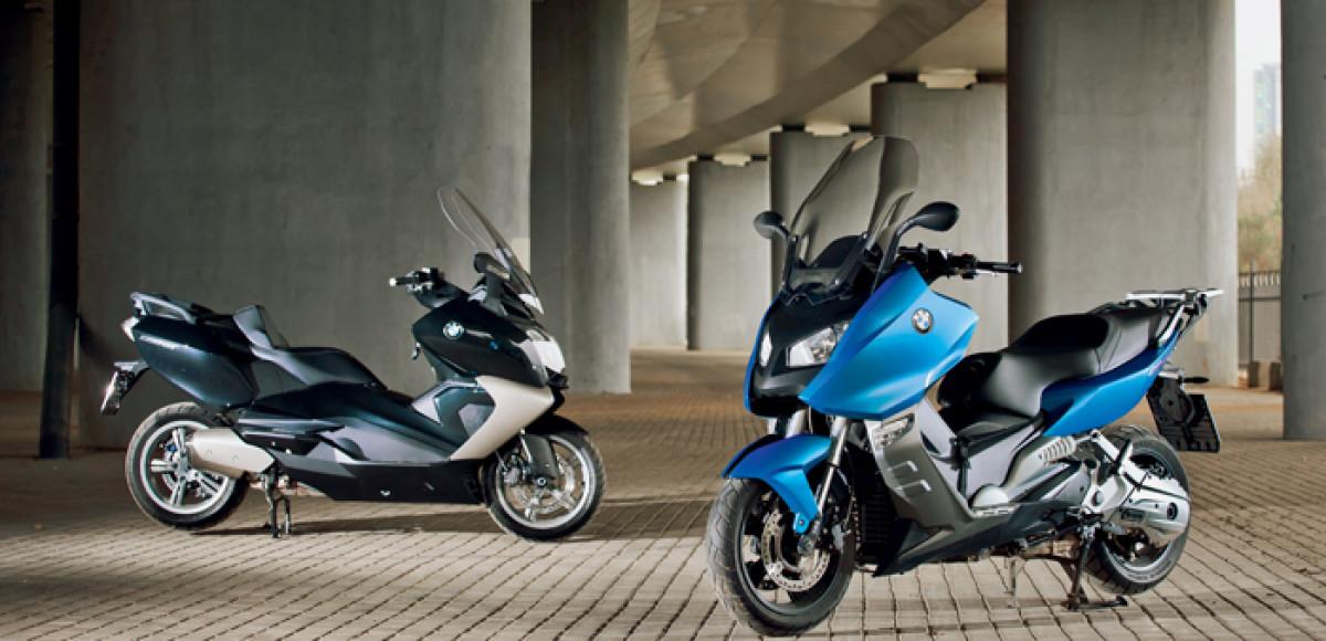 Макси-скутеры BMW. Комплексный обед