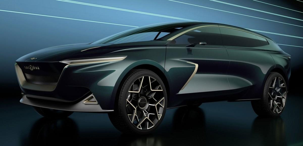 Lagonda All-Terrain Concept: концептуальный электропроходимец