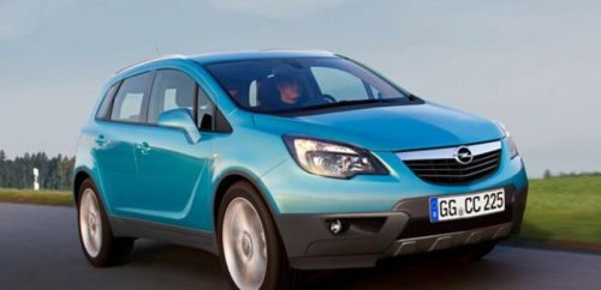 К выпуску готовится кроссовер Opel Corsa SUV