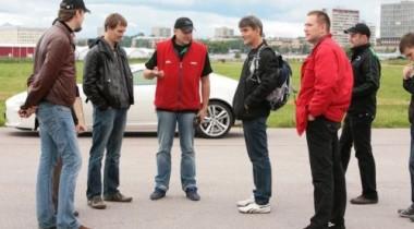 Jaguar Experience Road Show в Санкт-Петербурге