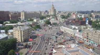 Движение транспорта через Таганскую площадь закрыто
