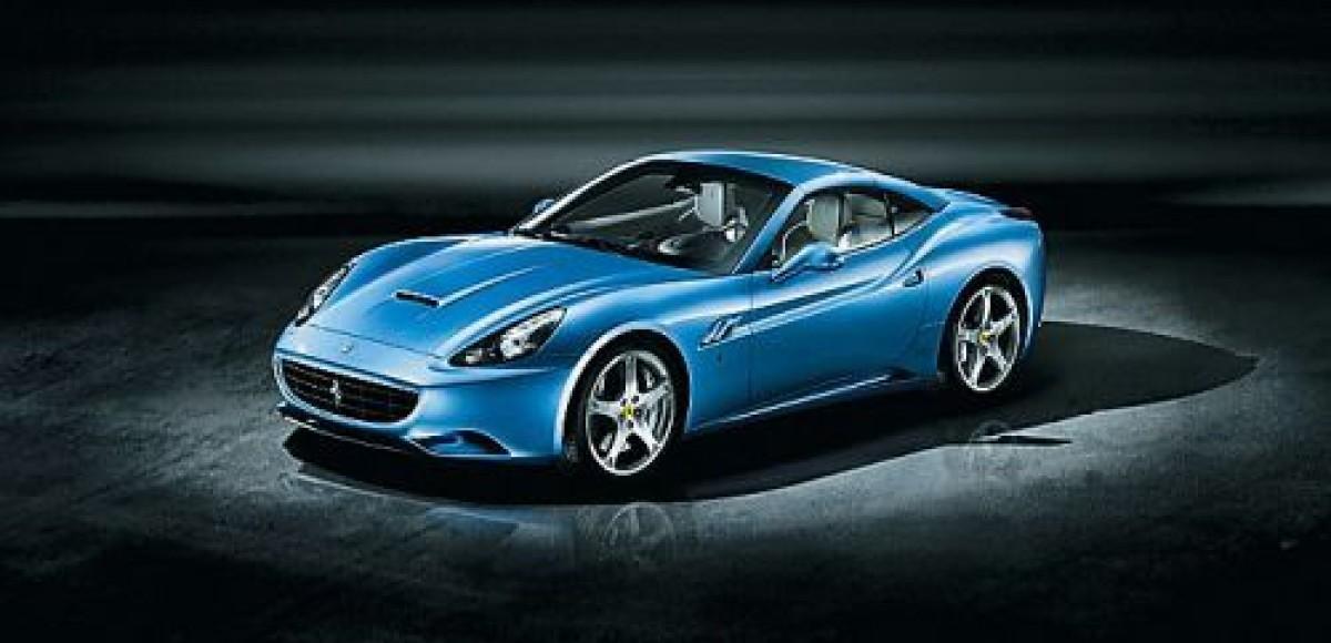В Маранелло показали Ferrari California