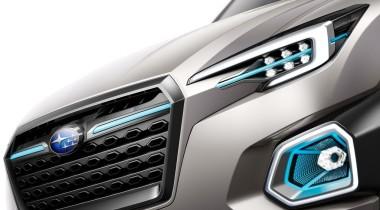VIZIV-7 SUV Concept. Большой кроссовер от Subaru