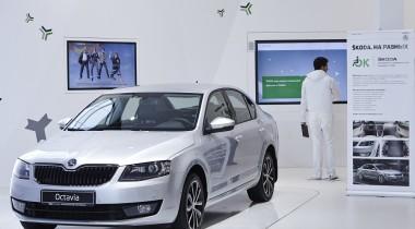 в Сочи представлена Škoda Octavia с ручным управлением