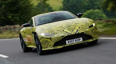 Aston Martin анонсировал новый Vantage