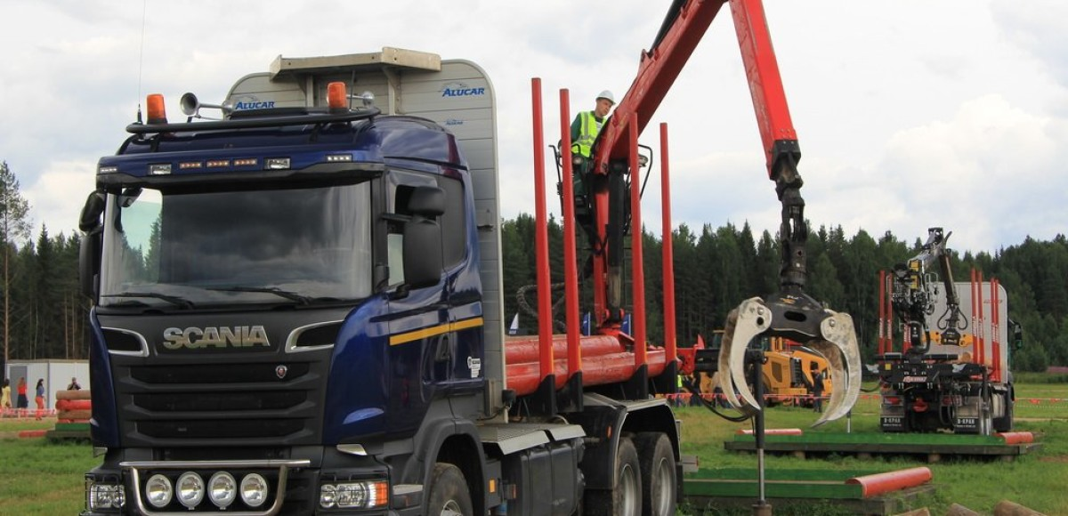 Sсania: мастерство на лесной делянке