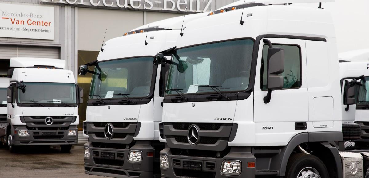 Mercedes-Benz Actros для «КазКонтракт Трейд»