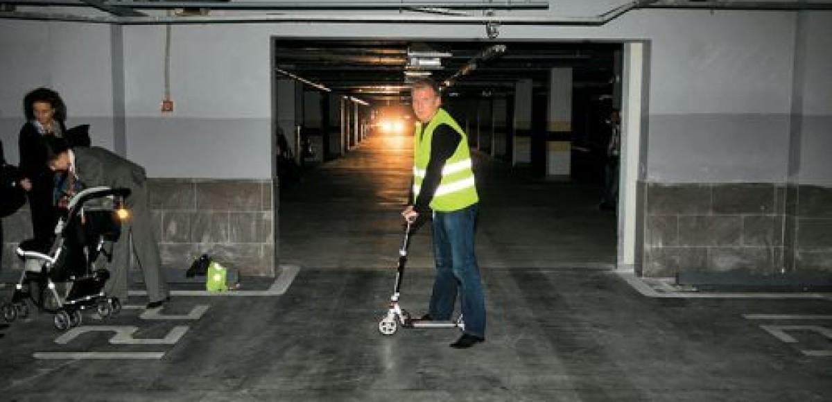 В Кунцево открыли многоуровневый «народный гараж»