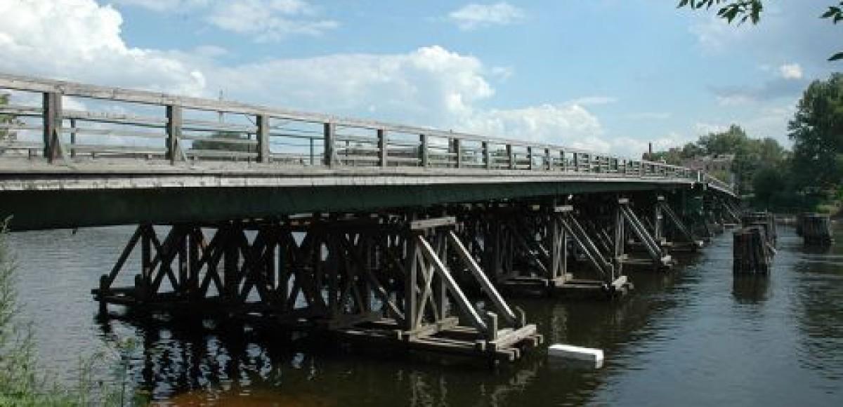 В Рязанской области на мосту столкнулись шесть автомобилей