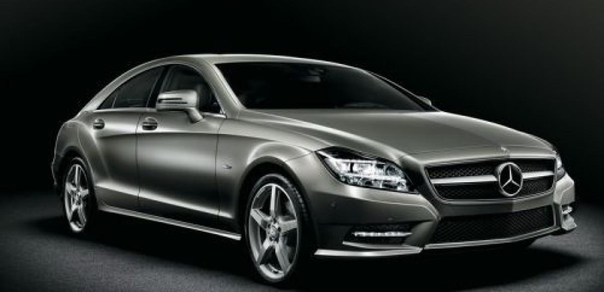 Mercedes-Benz CLS. Гни свою линию