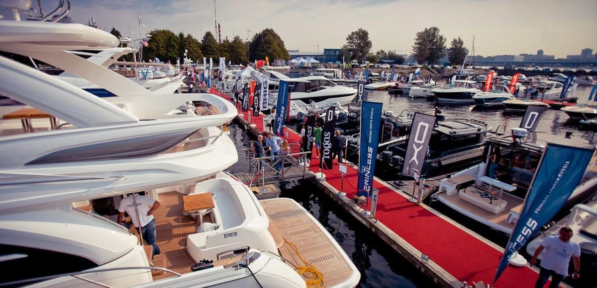 Международная выставка яхт и катеров прошла в Санкт-Петербурге