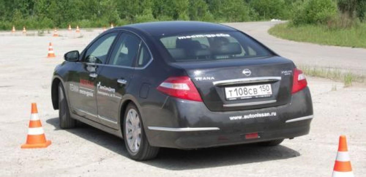 «АвтоСпецЦентр» провел презентацию нового Nissan Teana