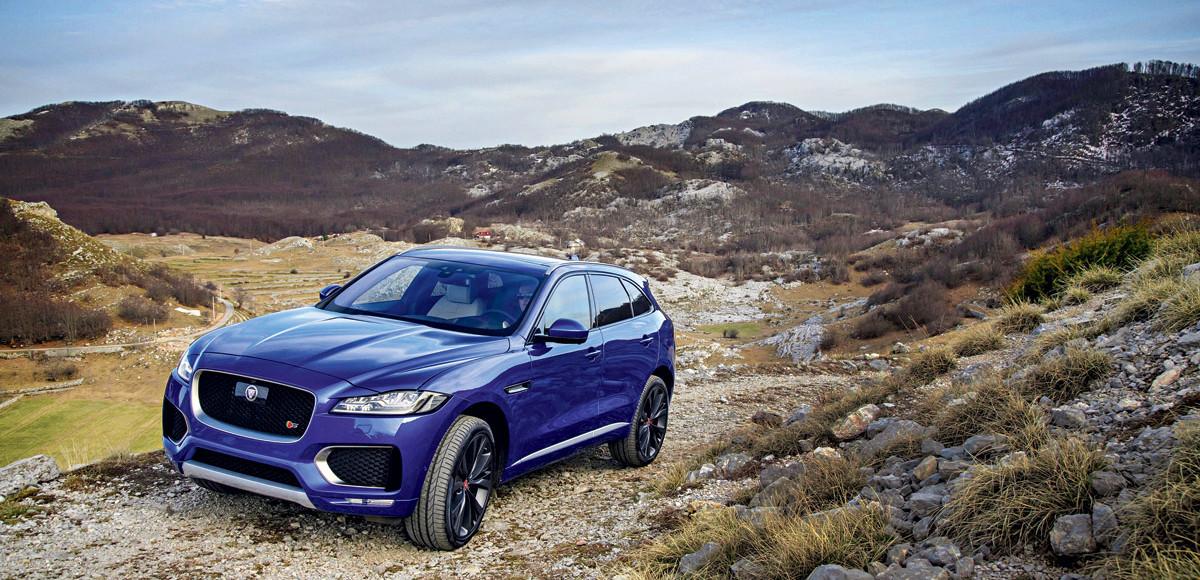 Jaguar F-Pace. Не просто внедорожник