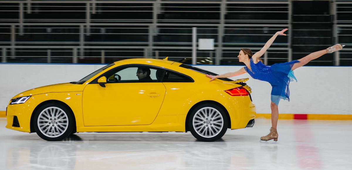 Audi TT. Парное катание