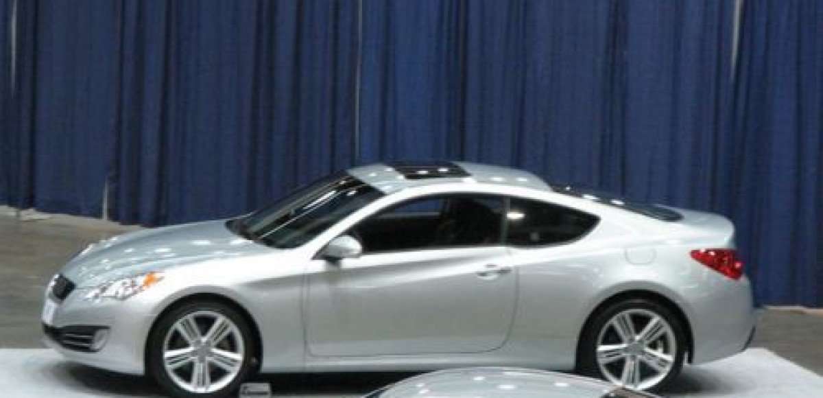 2009 Hyundai Genesis. Шпионские фото