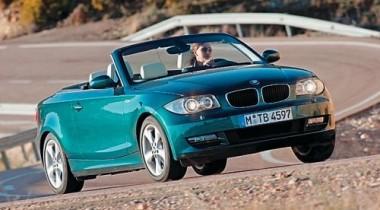 BMW 1-series Cabrio 135i. Принесенный ветром