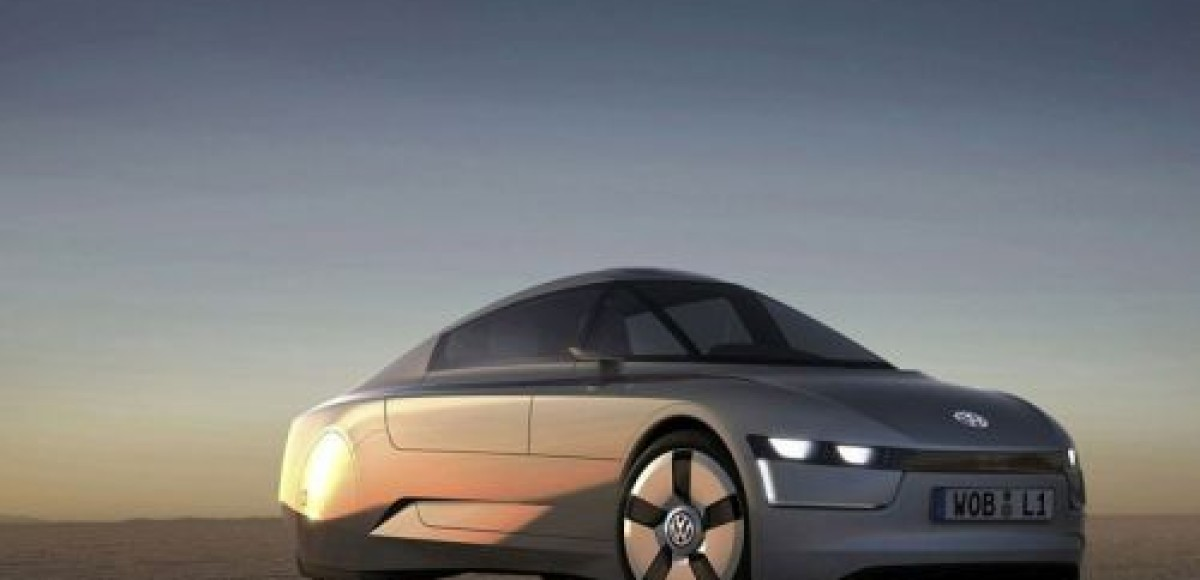 Volkswagen представляет литровый L1 Concept