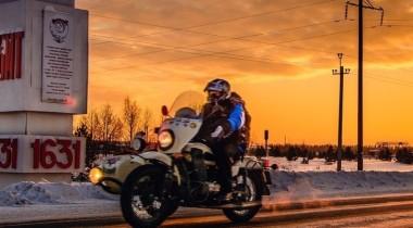 «Поход Силы»: 6000 км зимой на мотоциклах УРАЛ