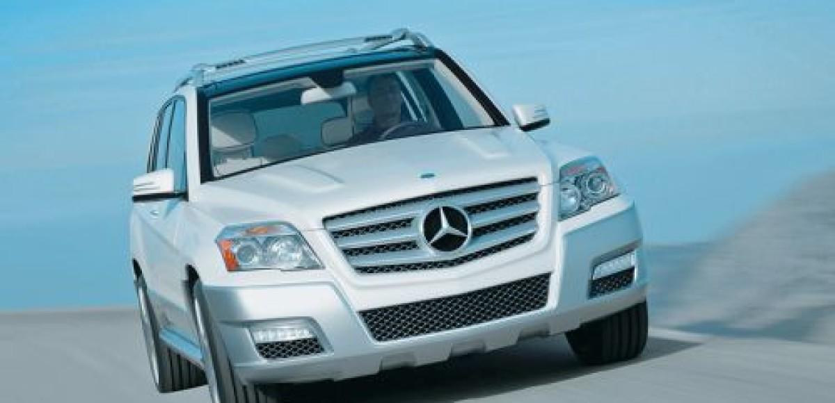 В Mercedes назвали цену кроссовера GLK для российских покупателей