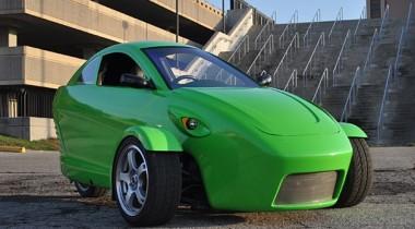 Американцы построят трёхколёсный автомобиль