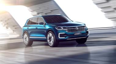 Volkswagen T-Prime GTE Concept. Большой, красивый, дорогой