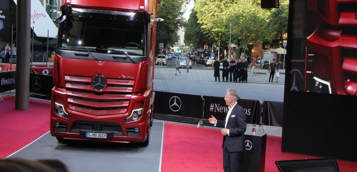 Mercedes Actros MY2019: более 60 новшеств