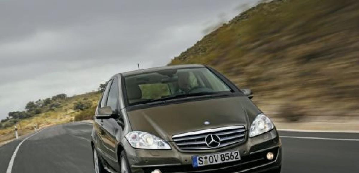 Mercedes-Benz A- и B-class. Звездопад