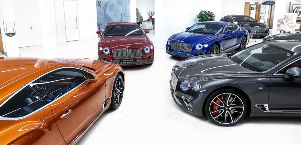 Новый Bentley Continental GT представят на выставке «MOTOREXPO — 2018»