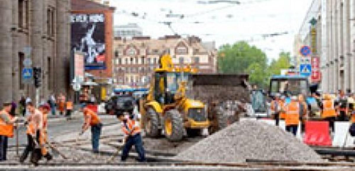 В Москве на ремонт закрывают Тверской путепровод