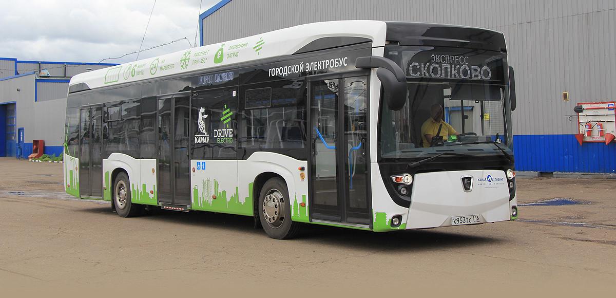 КАМАЗ-6282. Зеленый маршрут