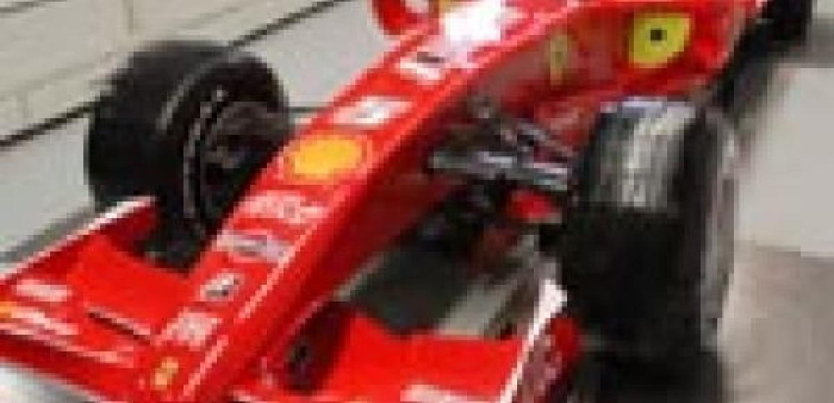 Ferrari F2008. Новогодний подарок