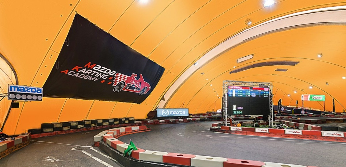 Картинг-центр Forza Karting обновил гоночную трассу