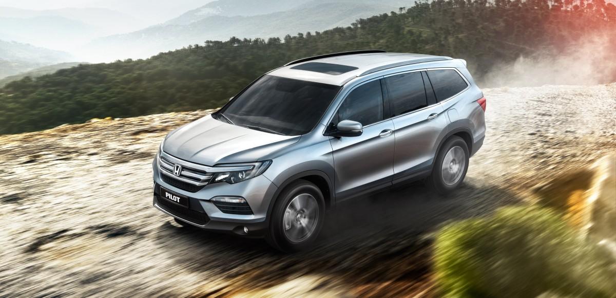 Honda Pilot: объявлена цена для России