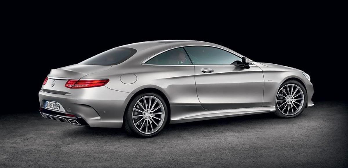Лимузин для водителя. Mercedes-Benz S-Class Coupe