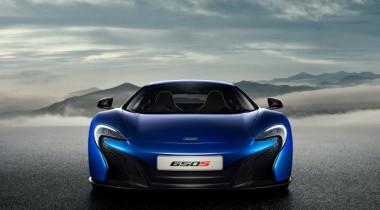 McLaren опубликовал фотографии новинки 650S