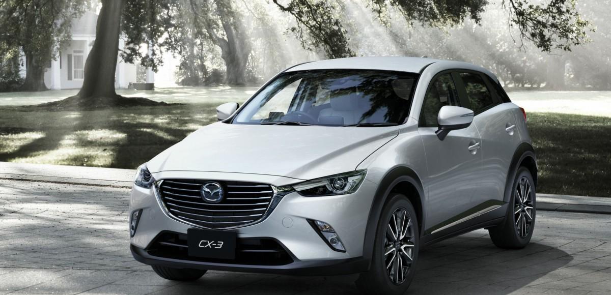 Mazda представила компактный кроссовер CX-3