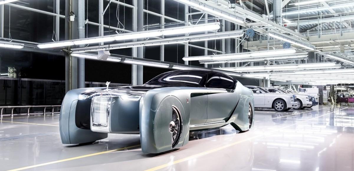 Rolls-Royce Vision Next 100. Увидимся в будущем