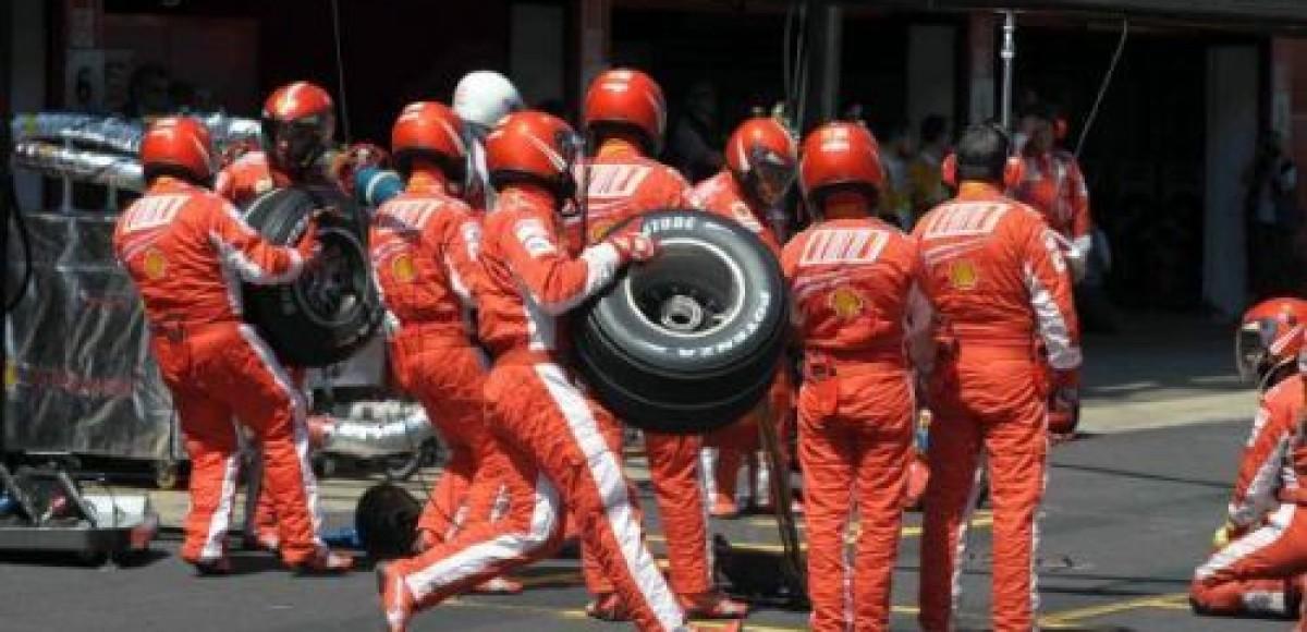 Шинные стратегии команд в гонке на Гран-При Испании