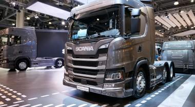Scania демонстрирует технику нового поколения