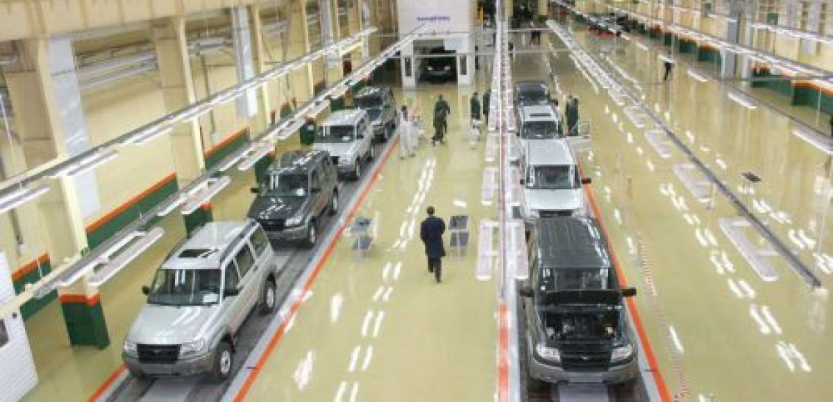 УАЗ отправит рабочих в продолжительный корпоративный отпуск
