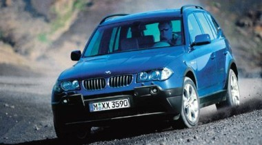 BMW предлагает специальные версии X3
