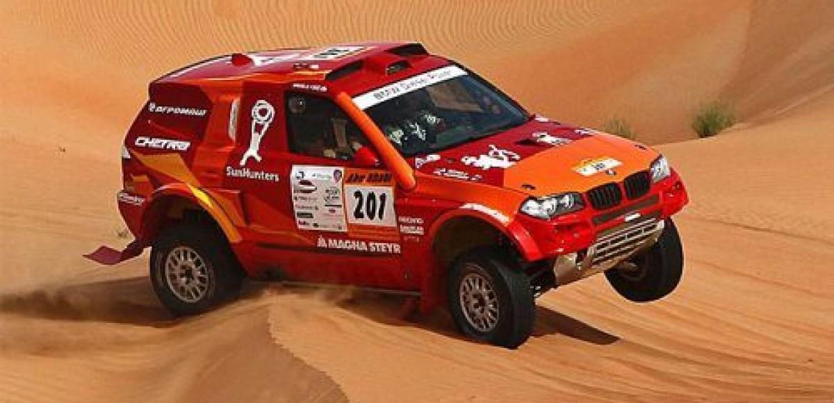 «Авто Плюс» поддерживает внедорожники на ралли-рейде «Abu Dhabi Desert Challenge 2011»