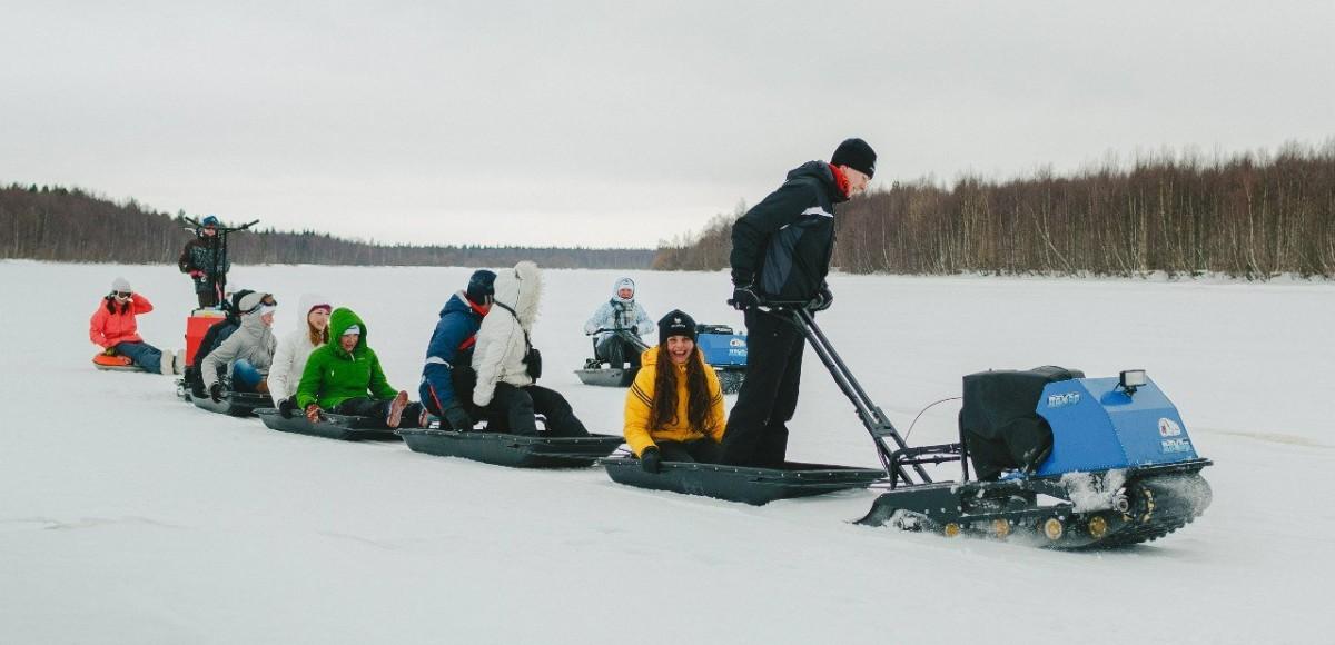 Бюджетные снегоходы: дешевле только на лыжах