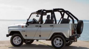 На УАЗе выпустит две специальные версии внедорожника Hunter