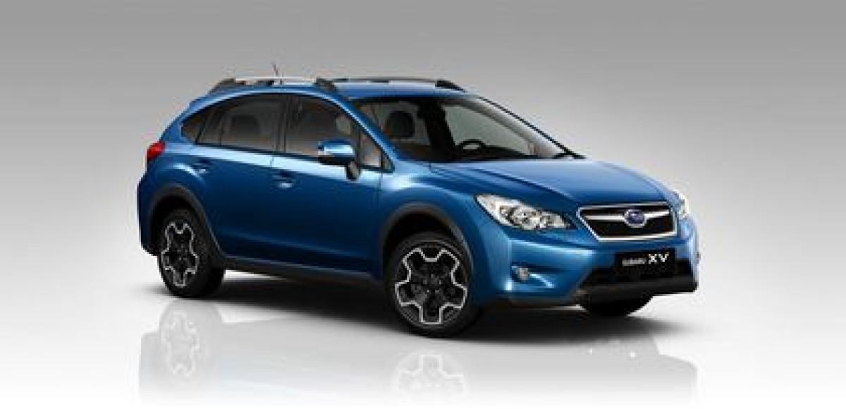 Обновленный Subaru XV начнут продавать с нового года