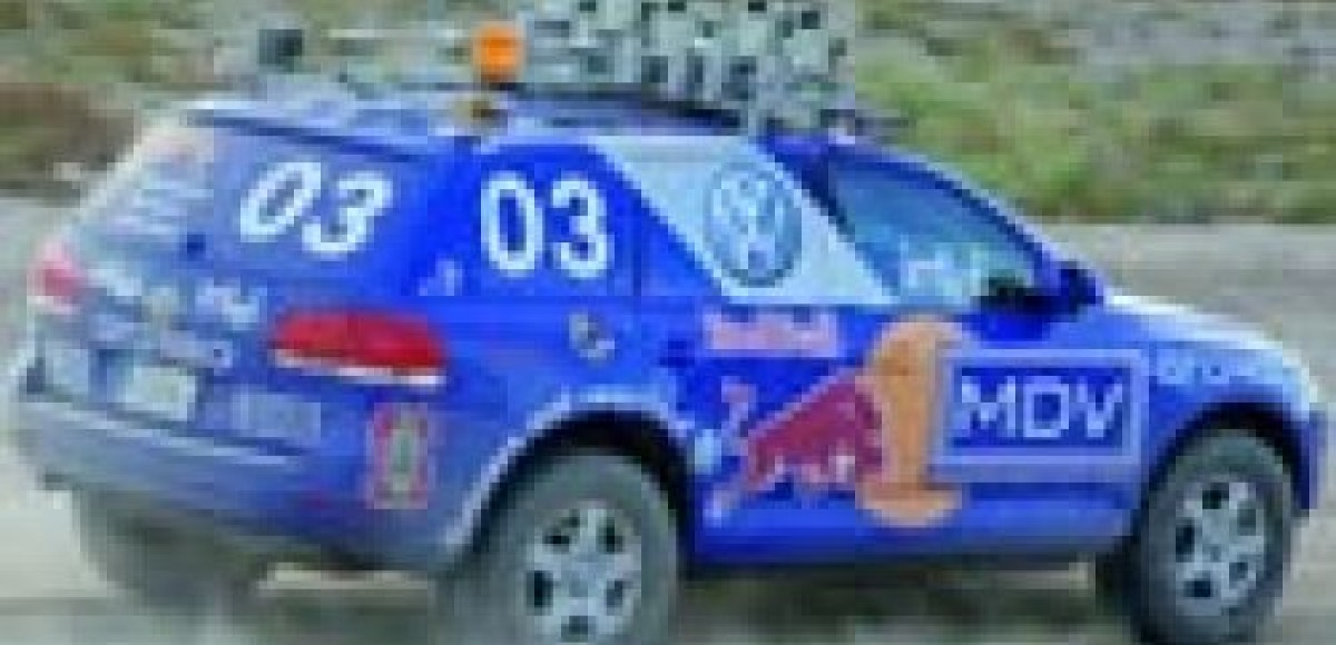 Volkswagen Touareg Stanley добрался до Южной Африки