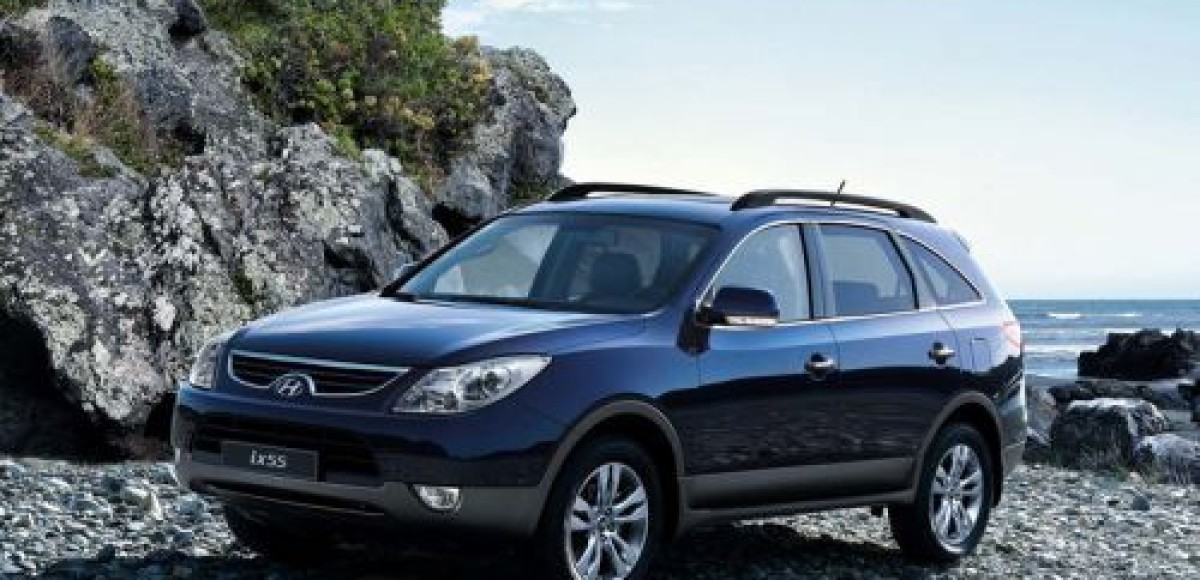 Hyundai объявляет о старте продаж в России кроссовера ix55