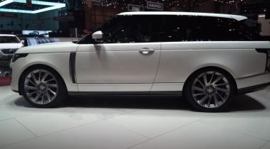 Range Rover SV Coupe: дефицит для миллионеров