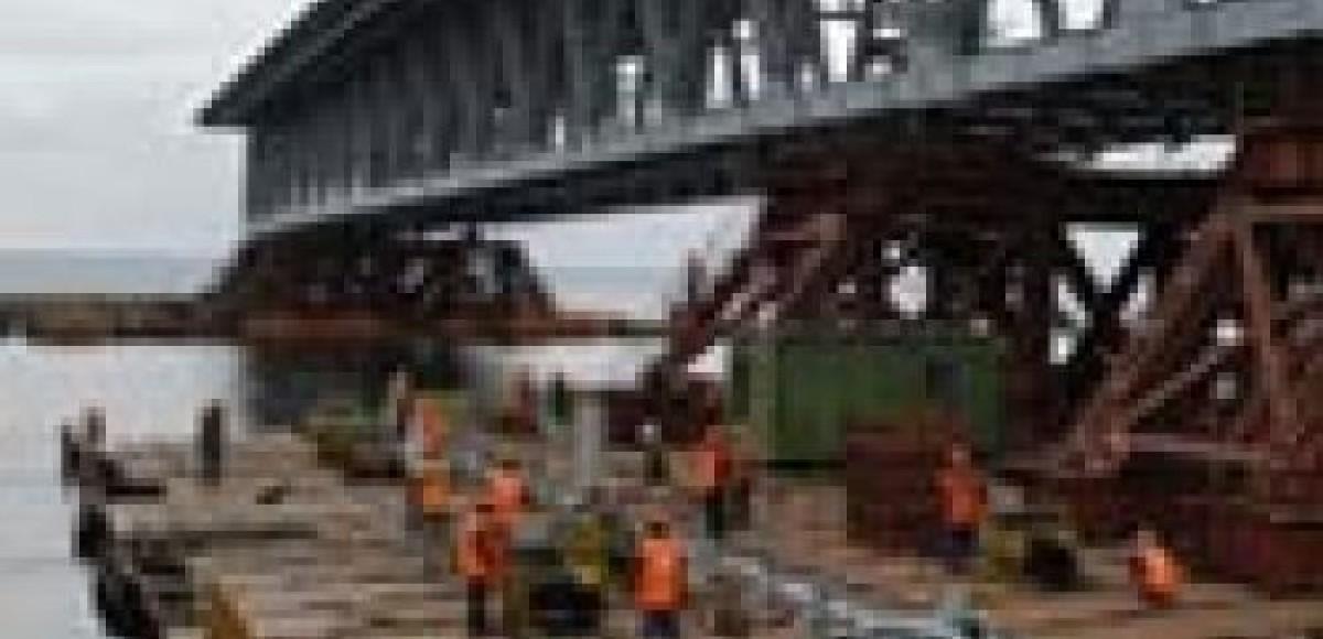 Ворошиловский мост через Дон откроют к новому году